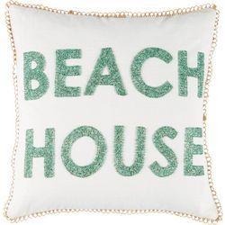 Beach House Decorative Pillow