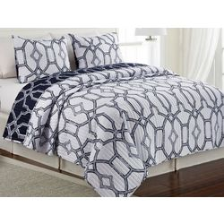 Elise & James Home Trellis Quilt Set
