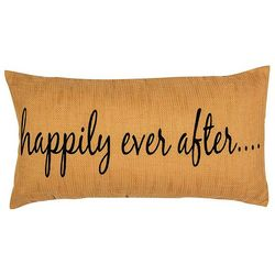 Elise & James Home Happily Ever After Decorative Pillow