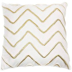 Elise & James Home Gwenyth Chevron Decorative Pillow