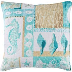 Coastal Home Marco Cottage Quilted Decorative Pillow