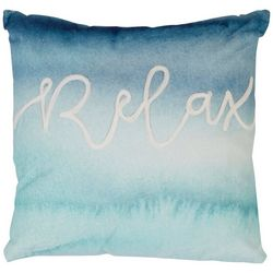 Red Pineapple Relax Ombre Decorative Pillow