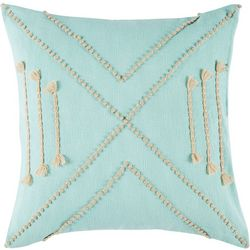 Vera Jungle French Knot Decorative Pillow