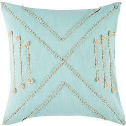 Vera Jungle French Knot Decorative Pillow