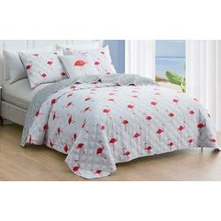 Flamingo Island Quilt Set