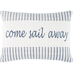 Tackle & Tides Delilah Anchor Sail Away Decorative Pillow