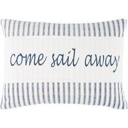Delilah Anchor Sail Away Decorative Pillow