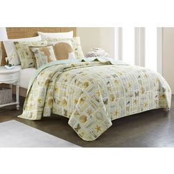Coastal Home Brendie Quilt Set