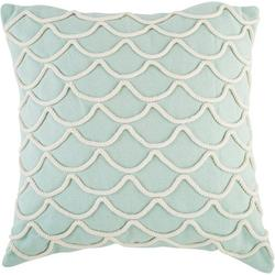 Rope Scales Decorative Pillow