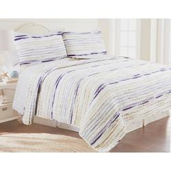 Ocean Stripe Quilt Set