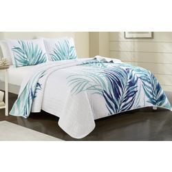 Palm Leaf Quilt Set
