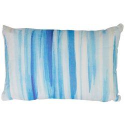 Coastal Home Tie Dye Oblong Decorative Pillow