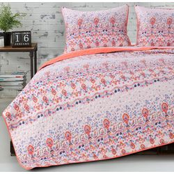 Greenland Home Fashions Amber Quilt Set