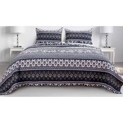Greenland Home Fashions Native Quilt Set
