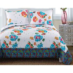 Greenland Home Fashions Ravey Quilt Set