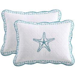 Beach Haven Tori Starfish Pillow Sham