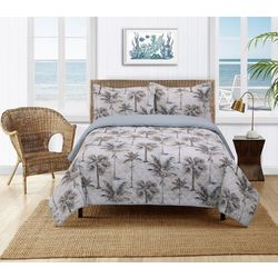 Cathay Home Palm Trees Quilt Set