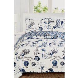 Home Fashions Distributors Catalina Quilt Set