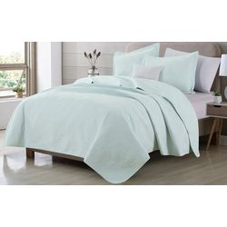 Home Fashions Distributors Key Biscayne Quilt Set