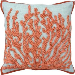 Mod Lifestyles Coral Decorative Pillow