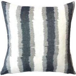 Mod Lifestyles Stripe Print Decorative Pillow