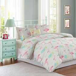 Mod Lifestyles Flamingo Comforter Set
