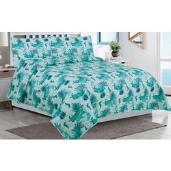 Tropic Winds Galapagos Quilt Set
