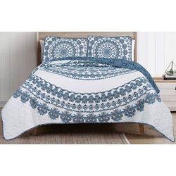 Nocturne Medallion Quilt Set
