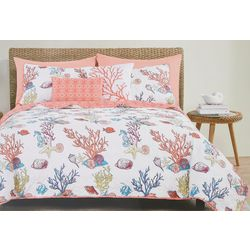 Seaside Collection Azurina Quilt Set