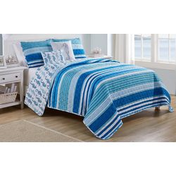 VCNY Home Brody 5-pc. Reversible Quilt Set
