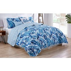 Tropical 5-pc. Reversible Quilt Set