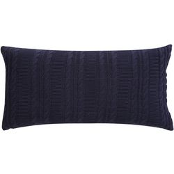 VCNY Home Dublin Cable Knit Decoraitve Pillow