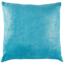Vivian Plush Metallic Decorative Pillow