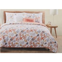 Seaside Collection Antigua Quilt Set