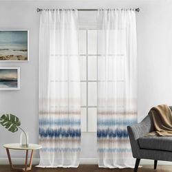 Silk Home 2-pk. Tranquility Curtain Panel Set