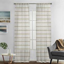 Silk Home 2-pk. Hudson Curtain Panel Set