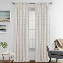 Silk Home 2-pk. Percy Curtain Panel Set