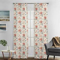 Silk Home 2-pk. Bayside Curtain Panel Set