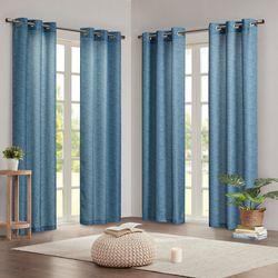 4-pk. Como Curtain Panel Set