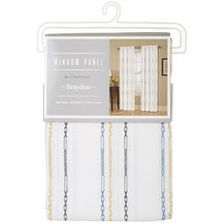 Homewear Brayden Embroidered Single Window Panel