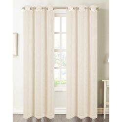 CHD Home Textiles 2-pk. Clemence Lined Curtain Panel Set