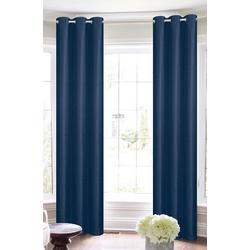 2-pk. Woven Black Out Curtain Panel Set