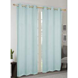 CHD Home Textiles 2-pk. Brenna Black Out Curtain