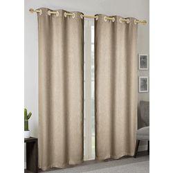 CHD Home Textiles 2-pk. Anelia Black Out Curtain