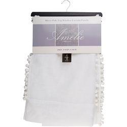 CHD Home Textiles 4-pk. Amelie Sheer Curtain Panel