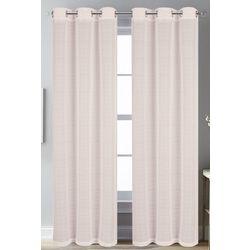 CHD Home Textiles 4-pk. Foley Metallic Curtain Panel