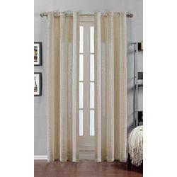 CHD Home Textiles 2-pk. Claire Curtain Panel Set