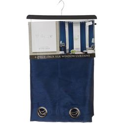 CHD Home Textiles 4-pk. Melvin Faux Silk Curtain