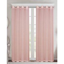 CHD Home Textiles 4-pk. Beaumont Sheer Curtain Panel Set