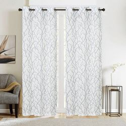 CHD Home Textiles 2-pk. Cliffside Curtain Panel Set